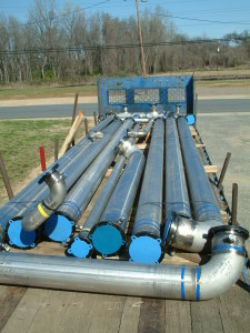 Flow Fab 187 Jacketed Pipe